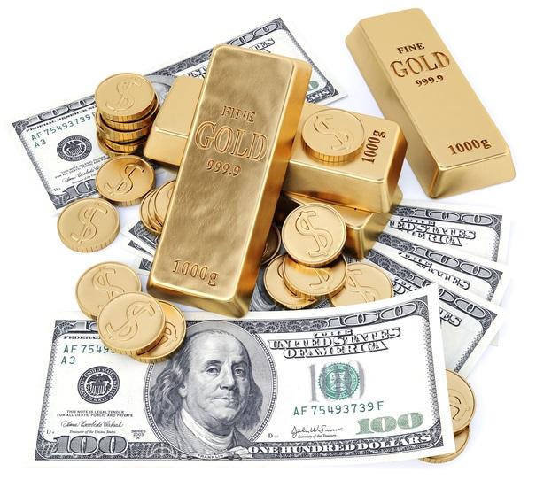 Золото вытесняет убивает доллар США из мировой системы стандарта